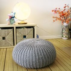 Inspired by Meinderstsma's Urchin Poufs, this pattern for a knitted stool has thinner yarn, but the budget is just as thin. (via pickles)