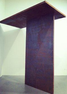 Richard Serra, Trip Hammer, steel, 1988. Tate Modern