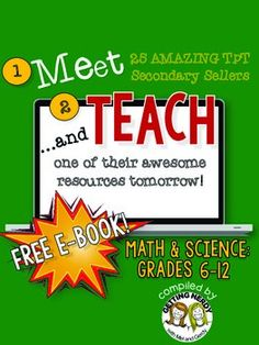 Meet and Teach eBook: Math & Science, Grades 6-12 (Free)