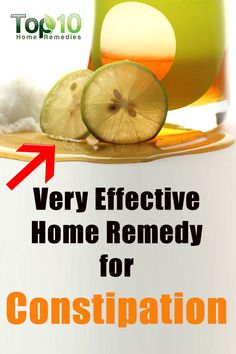 Very Effective Home Remedy for Constipation