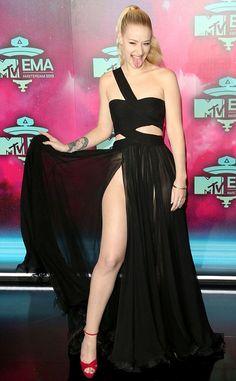 Iggy Azalea + gown