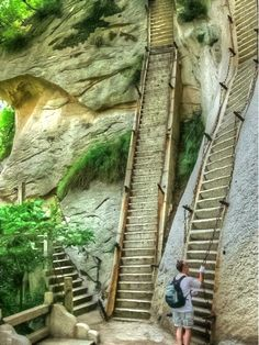 Nearly Mountain Stairs