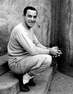 Only Gene Kelly could pull off white socks and black shoes.