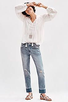Pilcro Em High-Rise Relaxed Jeans