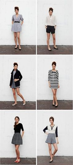 six outfits