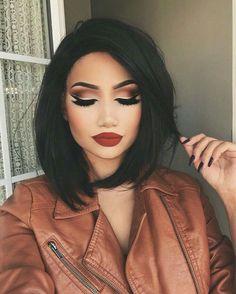Makeup Looks Party Lip Colors Ideas Makeup Goals, Makeup Tips, Beauty Makeup, Hair Beauty, Makeup Ideas, Makeup Tutorials, Makeup Meme, Makeup Quotes, Makeup Hacks