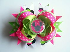 Minnie Mouse bow $6.99