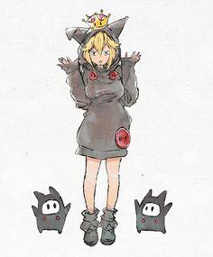 Ninji by kyu_fu Cartoon Video Games, Video Game Anime, Video Games Funny, Funny Games, Super Smash Bros, Super Mario Bros, Character Creation, Character Art, Cartoon Sketches