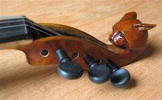 Gallery For > Unique Violin Scrolls