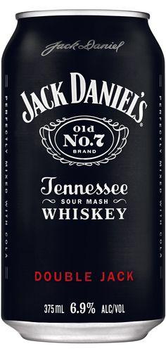 Jack Daniels Double Jack Can