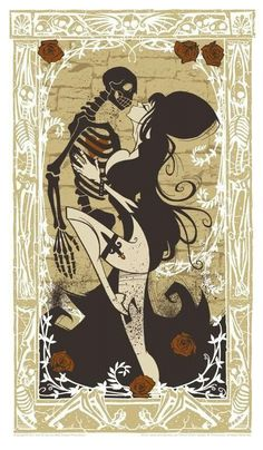 Elvira by Gris Grimley I'm really thinking about turning this design into a tattoo.