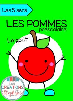 Les créations de Stéphanie : Les 5 sens : Les pommes Kindergarten Science, Preschool Learning, Teaching Science, Science Activities, Teaching Tools, Early Learning, French Teacher, French Class, Apple Theme