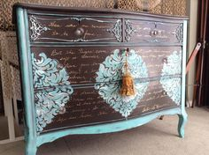 I DREAMED A DREAM ANTIQUE DRESSER. SOLD