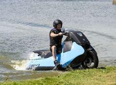 Gibbs amphibious motorcycles