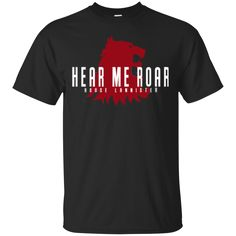 Game Of Thrones T shirts Hear Me Roar House Lannister Hoodies Sweatshirts