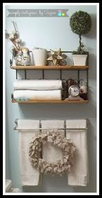 simply vintageous...by Suzan: Bathroom number 1 makeover