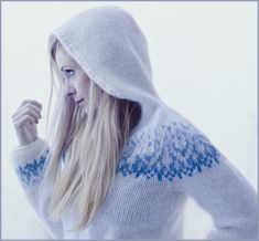 Can't help my self, nice woman, great photos and perfect sweaters - simple WOW - accidentally crossed on Flickr
