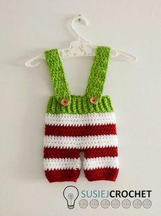 Newborn Pants Crochet Pattern! #susiejcrochet