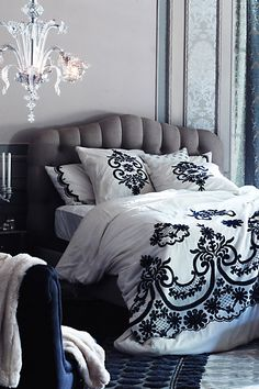 #Samirah #Embroidered #Duvet #Anthropologie