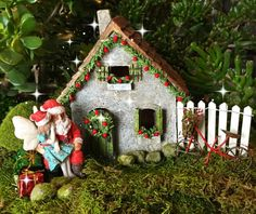 kit jardin féerique maison de jardin de par MiniatureFairyDreams