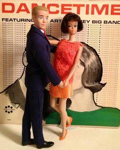 1960's Barbie and Ken