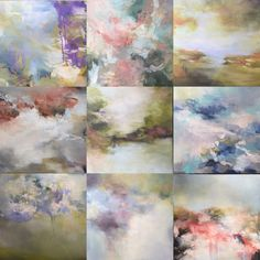 Summer moments. Oil paintings by Sharon Kingston.
