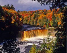 Upper Tahquamenon Fall Michigan