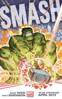 Hulk Has Possession Of Thor's Hammer