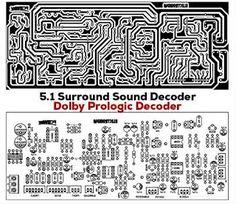 5.1 Surround Sound Decoder Class D Amplifier, Audio Amplifier, Svs Subwoofer, Free Software Download Sites, Analog Signal, Pcb Board, Circuit Diagram, Surround Sound, Circuit Board