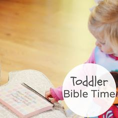 Toddler Bible Time (Free Download)
