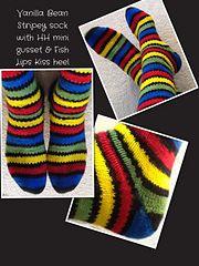 Ravelry: Fish Lips Kiss Heel pattern by Sox Therapist