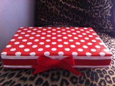 Red Ribbon Custom Cake Pop Stand  Holds 30 cake pops by POPCUPZ, $20.00