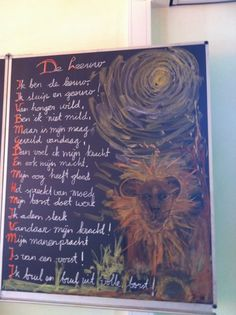 Vrije School Michael Bussum - Foto's en video Curriculum, Homeschool, Poetry For Kids, Blackboards, Fourth Grade, Videos, Animals, Pictures, Biology