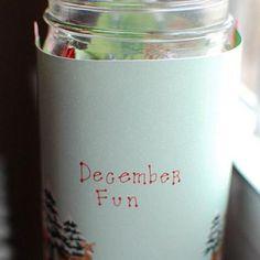 December Activity Jar for Kids {Christmas Countdown}