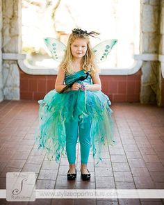 Proud as a Peacock Tutu Set for Photography and by MeadowLion1120, $150.00