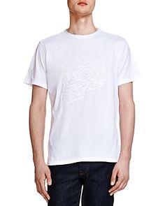 0c452a26b1 The Kooples Brushed Cotton 220 Skull T-shirt The Kooples, Shirt Men