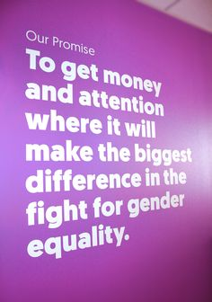 Global Fund for Women Office Branding Global Fund, How To Get Money, How To Make, Office Branding, Equality, Cards Against Humanity, Women, Social Equality, Woman