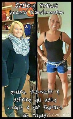 Look at Shelby Frews AMAZING results and only in 6 months!   You can have results just like Shelby! Ask me how today! #itworks #results