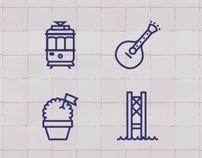 Lisbon Icons by Sofia Ayuso.