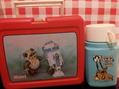 Star Wars  The Return of the Jedi Wicket lunch box by yesTOYyear, £49.99