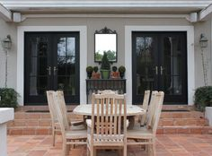 Black French Doors Patio reliabilt 71.5-in blinds between the glass steel french inswing