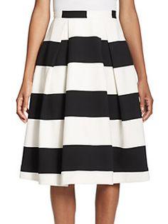 NICHOLAS - N / NICHOLAS Orchard Striped Ball Skirt