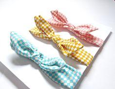 set of 3 Baby head wrapbaby headband bow headband by colorsplashh Head Wrap Headband, Knot Headband, Fabric Headbands, Baby Headbands, 3rd Baby, Top Knot, Head Wraps, Buy And Sell, Bows