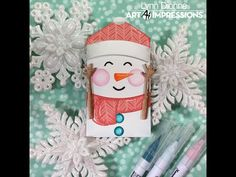 Art Impressions Blog: Snowman Gift Card Holder by Lynn Dionne