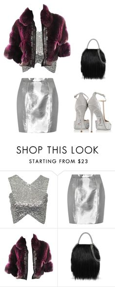 """Untitled #3567"" by carlafashion-246 ❤ liked on Polyvore featuring NLY Trend, Yves Saint Laurent, Roberto Cavalli, STELLA McCARTNEY and René Caovilla"