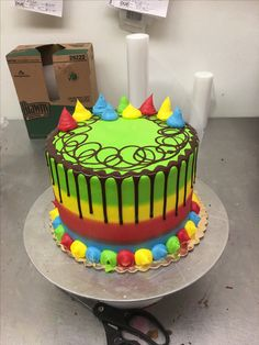 Cupcake Frosting Recipes, Buttercream Cake Designs, Cake Icing, Cupcake Cakes, Cupcakes, Cake Decorating Icing, Birthday Cake Decorating, Cool Birthday Cakes, Dairy Queen Cake