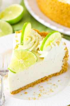 No Bake Key Lime Che