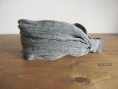 リネンのヘアバンド風カチューシャ|FLEURI blog