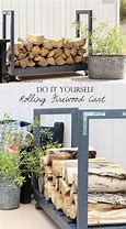 firewood storage indoor 15 firewood storage and creative firewood rack ideas for indoors and outdoors. Lots of great building tutorials and DIY-friendly inspirations! - A Piece Of Rainbow Wood Storage Rack, Wood Storage Sheds, Diy Storage, Outdoor Storage, Fire Wood Storage Ideas, Food Storage, Rack Shelf, Decorative Storage, Garage Storage
