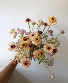 My Flower, Pretty Flowers, Fresh Flowers, Wild Flowers, Cut Flowers, Spring Aesthetic, Flower Aesthetic, Floral Bouquets, Floral Wreath